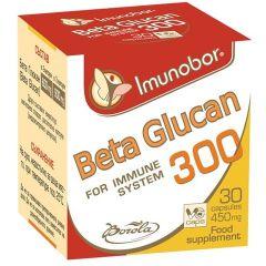 Borola Beta Glucan Бета глюкан подпомага функцията на имунната система 450 мг х30 капсули