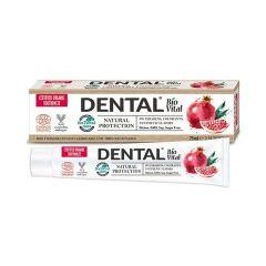 Dental BioVital Natural Protection Натурална паста за зъби с нар 75 мл