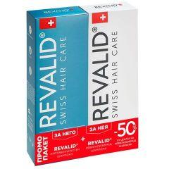 Revalid Комплект шампоан против пърхот + възстановяващ протеинов шампоан 2x250 мл