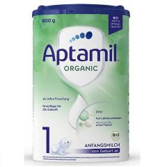 Aptamil Organic 1 Био адаптирано мляко за кърмачета 0-6M 800 гр