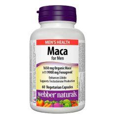 Webber Naturals Мака за мъже x60 капсули