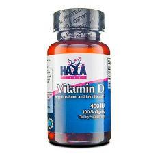 Haya Labs Vitamin D 400IU х100 капсули