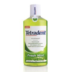 Tetradent Fresh Mint Вода за уста за свеж дъх 250 мл