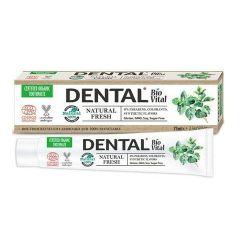 Dental BioVital Natural Fresh Паста за зъби за свеж дъх с мента 75 мл
