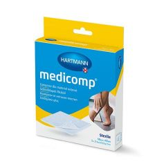 Hartmann Medicomp Стерилен компрес 10 см х 10 см 5х2 бр