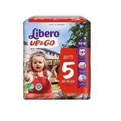 Пелени - гащички Libero Up&Go Размер 5 Jumbo х20 бр
