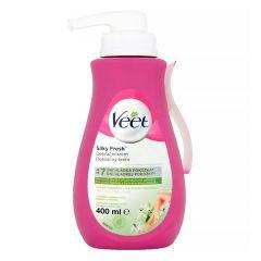 Veet Silk & Fresh Депилиращ крем за нормална и суха кожа 400 мл
