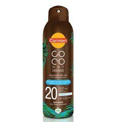 Carroten Coconut Dreams Слънцезащитно сухо олио за тяло с кокос SPF20 150 мл