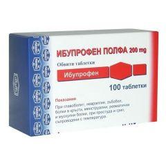 Ибупрофен Полфа 200 мг х100 таблетки Polpharma