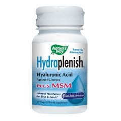 Nature's Way Hydraplenish with MSM Хидраплениш МСМ за здравето на кожата и ставите 750 мг х60 капсули