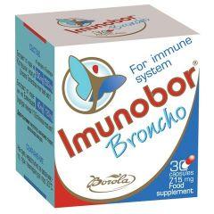 Borola Imunobor Broncho Имунобор Бронхо при заболявания на дихателната система 715 мг х30 капсули