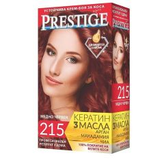 Престиж Крем боя за коса 215 Медено червен