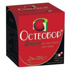 Borola Osteobor Fortе Остеобор Форте за костната система 1088 мг х30 капсули
