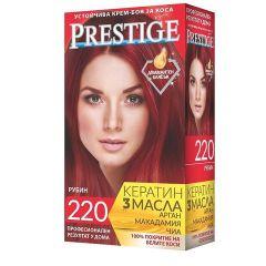 Престиж Крем боя за коса 220 Рубин