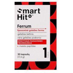 Smart Hit IV Ferrum Липозомно желязо х30 капсули