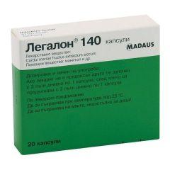 Легалон за здрав черен дроб х20 капсули