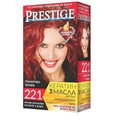 Престиж Крем боя за коса 221 Гранатово червен