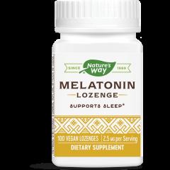 Nature's Way Melatonin Lozenge Мелатонин за спокоен сън 2.5 мг х100 таблетки за смучене
