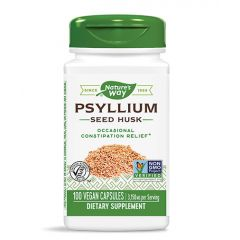 Nature's Way Psyllium Seed Husk Хуск при запек 525 мг х100 капсули
