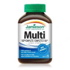 Jamieson Multi 100% Complete Мултивитамини за мъже х25 таблетки