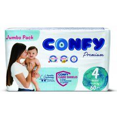 Confy Premium Размер 4 Maxi Jumbo Pack 60 бр