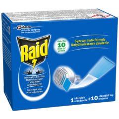 Raid Електрически изпарител с ламинирани таблетки против комари SC Johnson