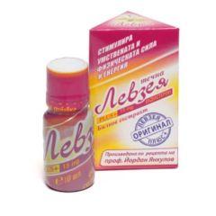 Левзея Plus+ Течен билков екстракт за сила и енергия 10 мл Tsvetelina