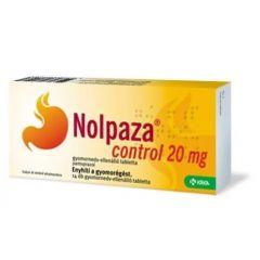 Nolpaza Control За намаляване киселинността в стомаха 20 мг 14 таблетки Krka