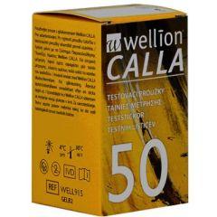Calla Тест-ленти за кръвна захар 50 бр Wellion