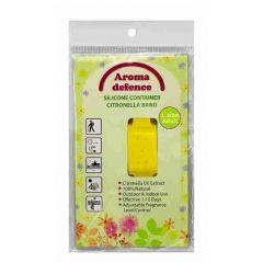 Aroma Defence Силиконова гривна против насекоми с контейнер за възрастни