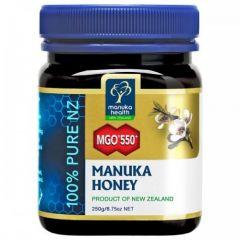 Мanuka Honey MGO 550+ мед от манука 250 грама Manuka Health