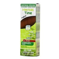 Herbal Time Оцветяваща крем-къна за коса Цвят 05 Кестен 75 мл