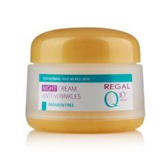 Regal Q10+ Refresh Нощен крем против бръчки 50 мл