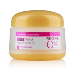 Regal Q10+ Minerals Нощен крем против бръчки 50 мл
