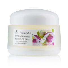 Regal Natural Beauty Възстановяващ нощен крем Магнолия и Biopeptide-CL 50 мл