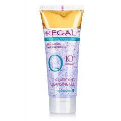 Regal Q10+ Refresh Почистващ измивен гел за лице за нормална и смесена кожа 100 мл