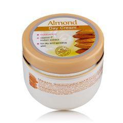 Роза Импекс Almond Дневен овлажняващ крем за лице за суха и чувствителна кожа 100 мл