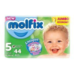 Пелени Molfix Jumbo Размер 5 Junior 44 бр