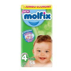 Пелени Molfix Jumbo 4+ Maxi+ 54 бр