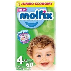 Пелени Molfix Jumbo 4 Maxi 60 бр