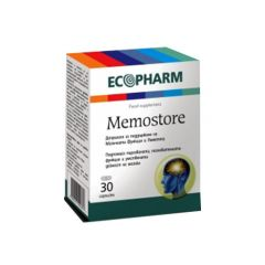 Memostore За памет и концентрация х30 капсули Ecopharm