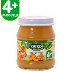 Ovko Bebelan Пюре от тиква 4М+ 100 гр