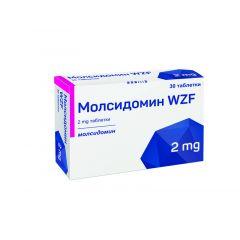 Молсидомин 2 мг х30 таблетки Polpharma