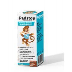 NaturProdukt Padstop Лосион срещу въшки в комплект с гребен и шапчица х75 мл