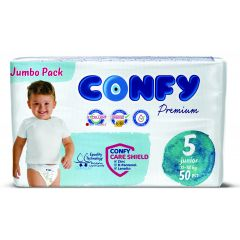 Confy Premium Размер 5 Junior Jumbo Pack 50 бр