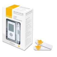 GM100 Глюкомер за кръвна захар + GS100 Тест-ленти за кръвна захар 50 бр Bionime Комплект