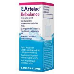 Artelac Rebalance Kапки за очи 10 мл Bausch+Lomb