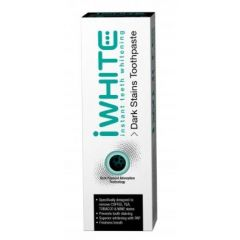 iWHITE Instant Teeth Whitening Dark Stain Toothpaste Избелваща паста за зъби с активен въглен 75 мл