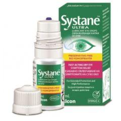 Alcon Systane Ultra Овлажняващи капки за очи без консерванти 10 мл