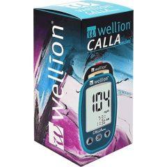 Calla Mini Глюкомер за кръвна захар с 50 броя тест ленти Wellion